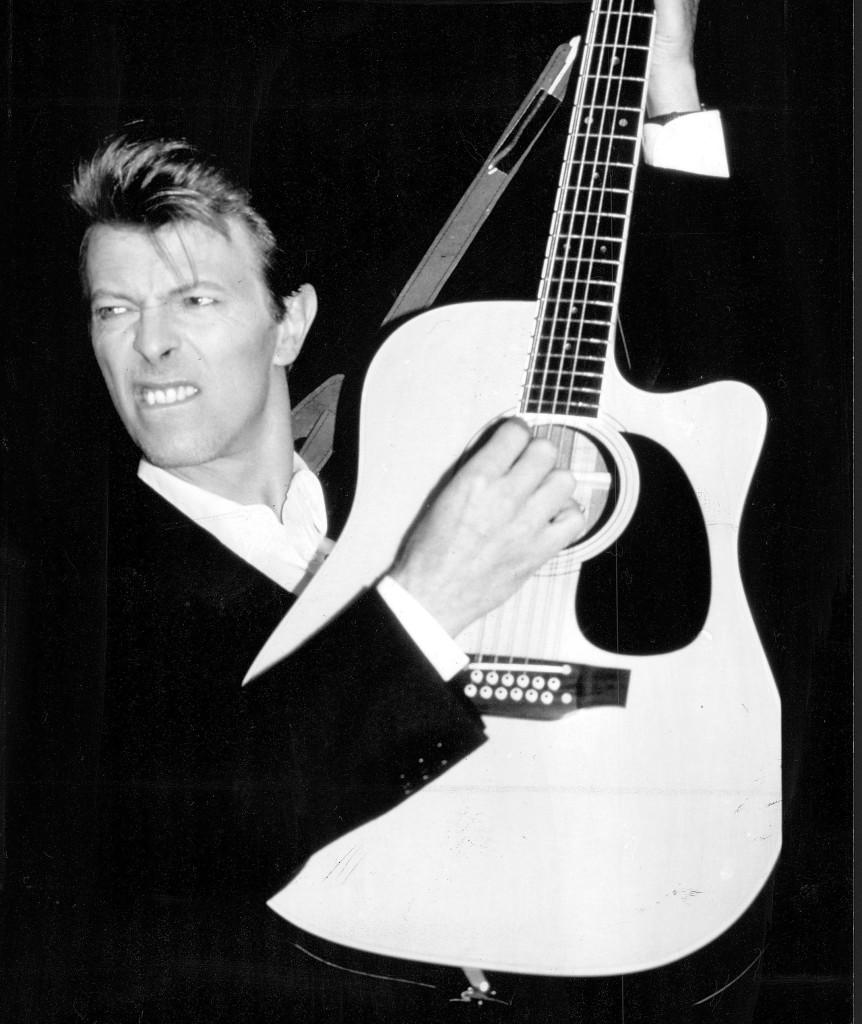 """David Bowie, 1990. Året innan hade han släppt albumet  """"Tin machine"""" tillsammans med bandet med samma namn."""